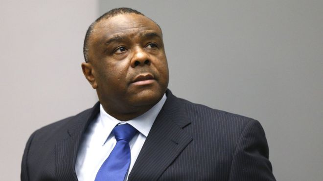 Jean Pierre Bemba yarekuwe