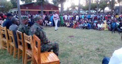 Iburasirazuba :Guverineri Mufurukye yasabye abatuye Gatsibo ubufatanye mu gukumira ibyaha