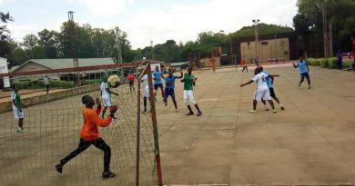 Polisi Handball Club yanyagiye ikipe ya Kanuza y'u Rwanda mu mukino wa shampiyona