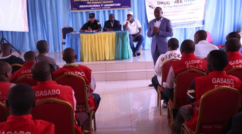 Kigali: Hatangijwe amahugurwa agamije kunoza imikoreshereze y'umuhanda mu bamotari