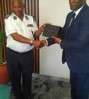 DIGP Marizamunda yitabiriye umuhango wo kwizihiza isabukuru ya Polisi y'Ubwami bwa Eswatini