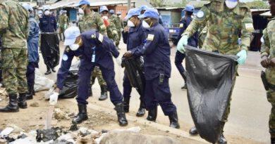 Abapolisi b'u Rwanda bakoze umuganda rusange muri Sudani y'Epfo