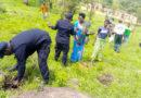 Nyagatare: Abapolisi bafatanyije n'abaturage gutera ibiti ku buso bwa hegitari Ebyiri