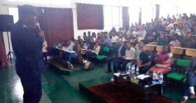 Musanze: Polisi yakanguriye abanyeshuri bo muri Kaminuza y'u Rwanda kugira uruhare mu mutekano