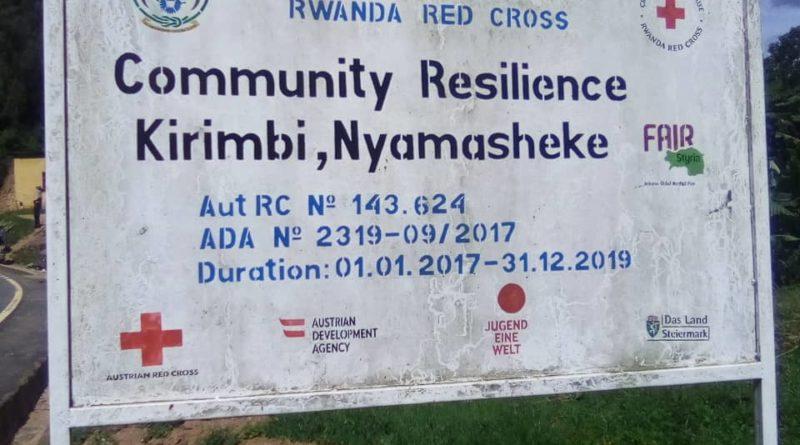 Bimwe mu bikorwa byagezweho na Croix Rouge y'uRwanda mu Karere ka Nyamasheke 2014-2020