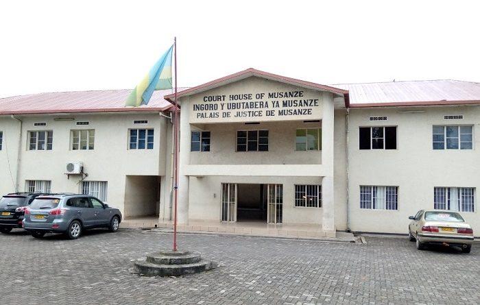 Musanze :Dusabimana Felicien komisiyoneri  wa ruswa yatumijwe na perezida w'urukiko.