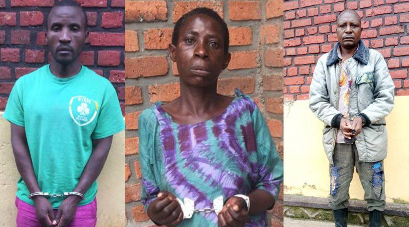 BURERA: Kuri polisi ya Gahunga hafungiwe NYIRAMARWA Vestine na MBONYEBYOMBI bakurikiranywe icyaha cyo kwica abo bashakanye.